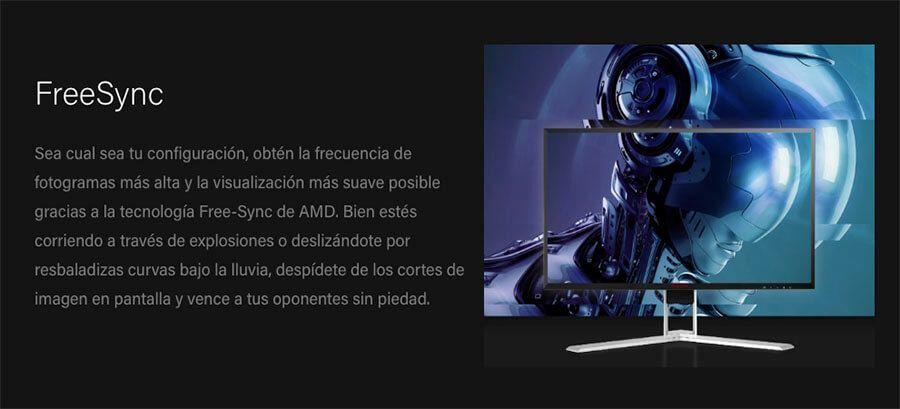 precio del monitor 144hz aoc ag241qg
