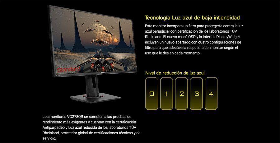review monitor Asus vg278qr