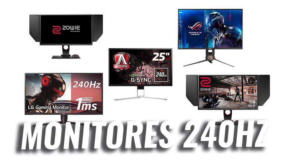 mejor monitor 240hz