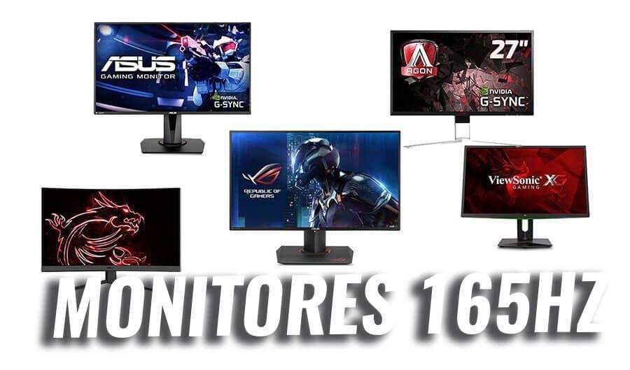 mejores monitores 165hz