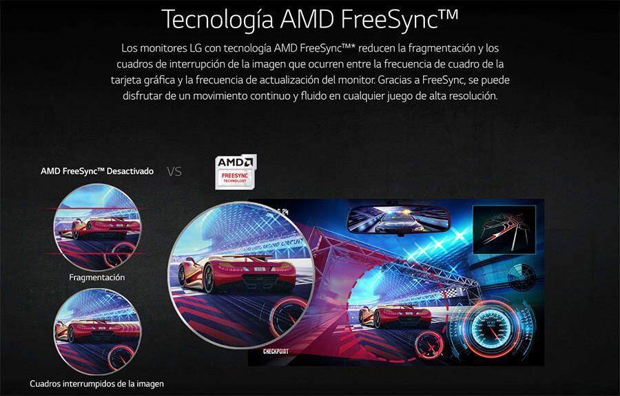 tiene amd freesync monitor lg 27GK750F-B