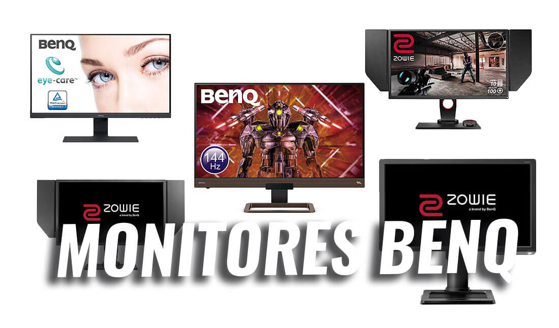 mejores monitores gaming benq