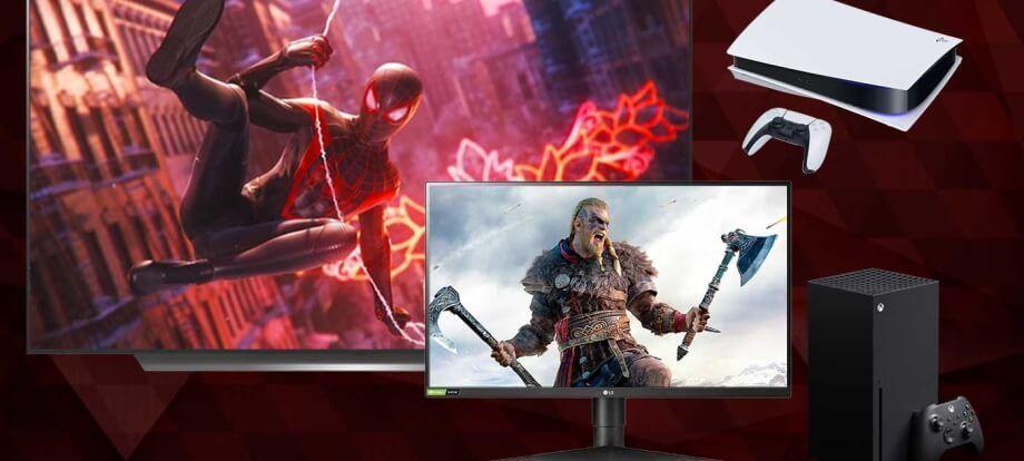 cuales son los monitores top para PS5